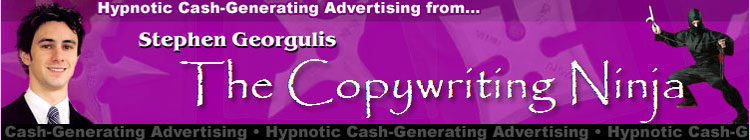 Copywriting Ninja Stephen Georgulis